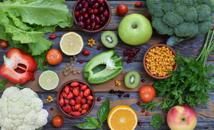 野菜やフルーツの写真