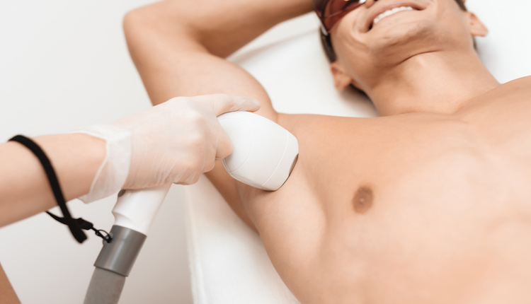 メンズ除毛クリームの施術2