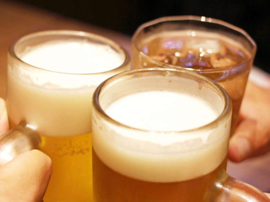 脱毛中の飲酒は禁止