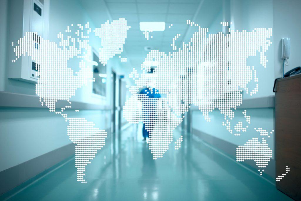 世界の病院のイメージ