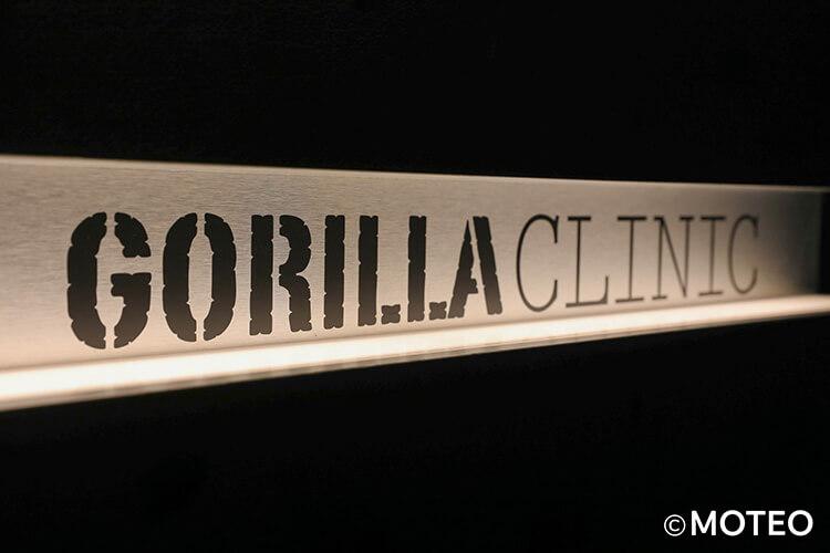 ゴリラクリニック渋谷院の看板