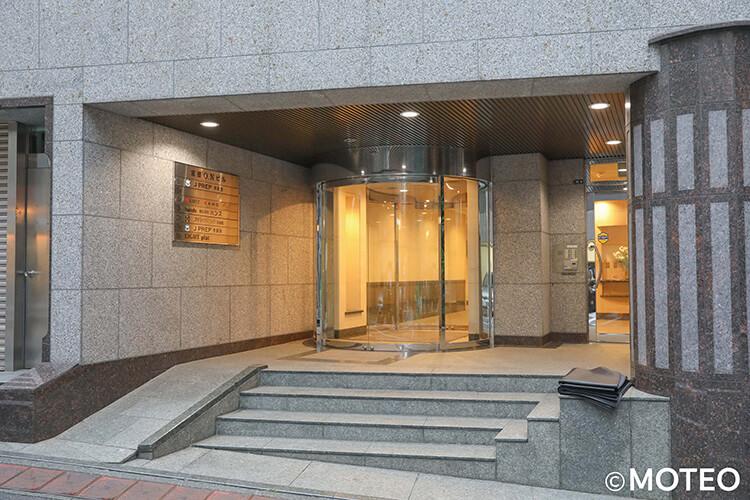 ゴリラクリニック渋谷院の入り口