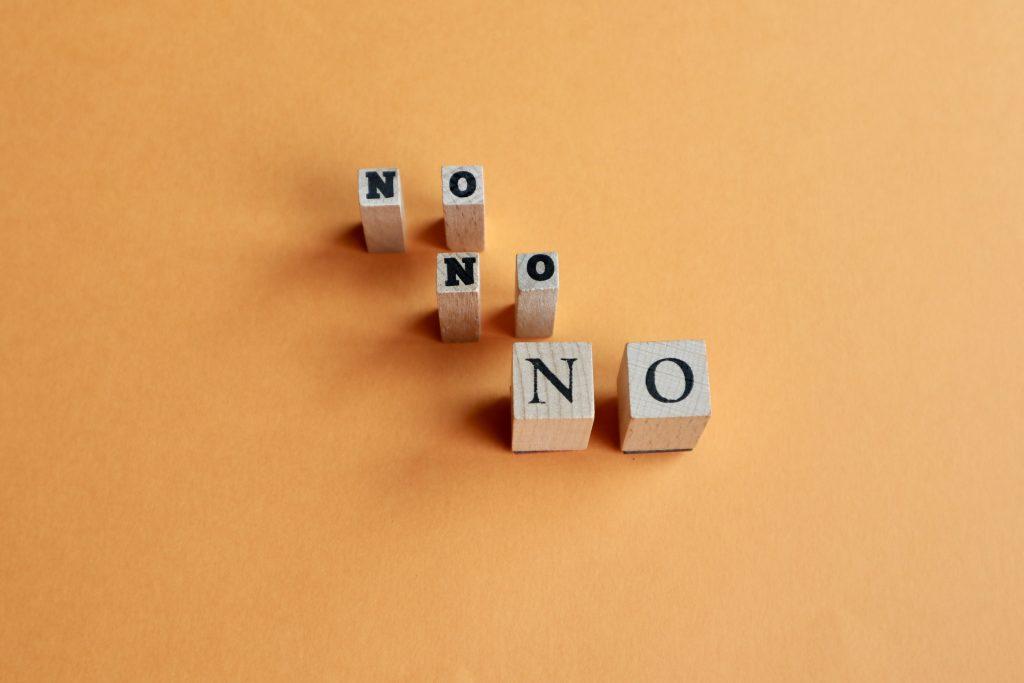 NOの文字